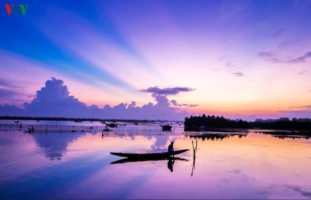 El encanto del pantano de Quang Loi - ảnh 12