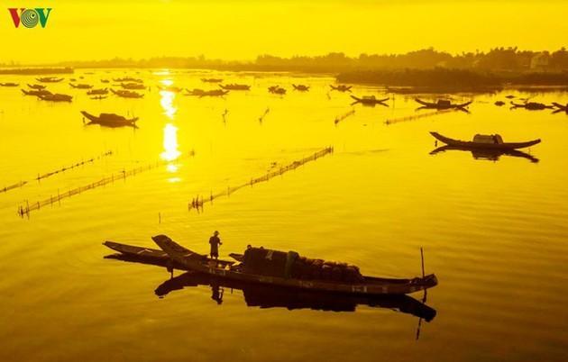 El encanto del pantano de Quang Loi - ảnh 8