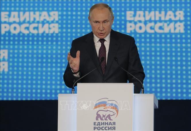 Partido Rusia Unida celebra su XIX Congreso - ảnh 1