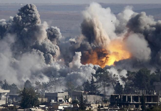Base militar de Estados Unidos en Iraq atacada  - ảnh 1