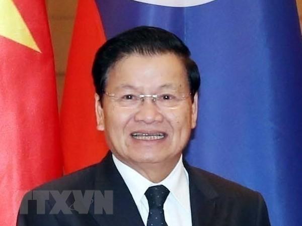 Premier laosiano copresidirá en Vietnam 42 reunión del Comité Intergubernamental binacional - ảnh 1