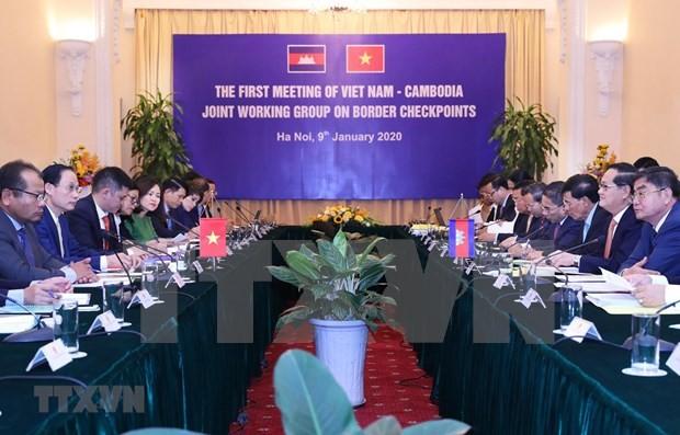 Vietnam y Camboya evalúan trabajos fronterizos - ảnh 1