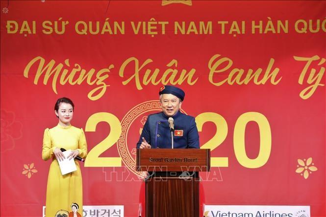 Vietnamitas en ultramar celebran Tet 2020 - ảnh 1