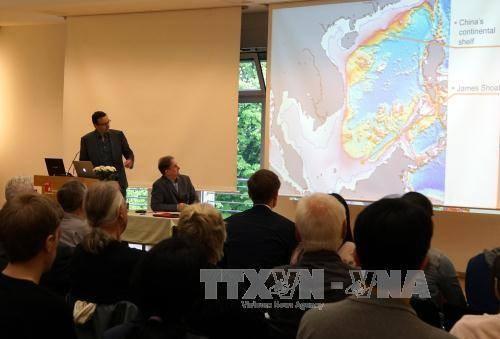 Conferencia sobre el Mar del Este en Alemania enfatiza la importancia del derecho internacional - ảnh 1