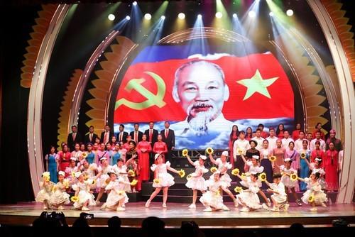 Celebran 90 aniversario de la fundación del Partido Comunista de Vietnam - ảnh 1