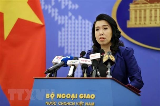 Todas las actividades en los archipiélagos de Truong Sa y Hoang Sa deben ser aprobadas por Vietnam, afirma Cancillería vietnamita - ảnh 1