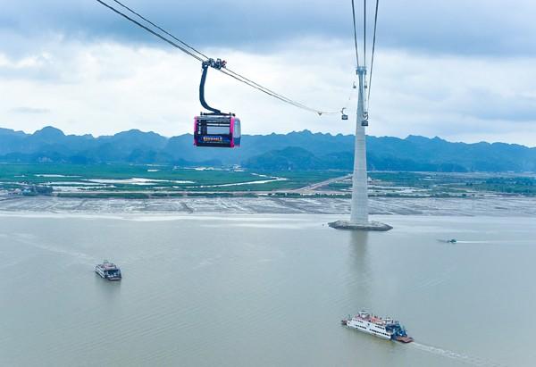 Inaugurarán en Vietnam el teleférico con pilona más alta del mundo  - ảnh 1