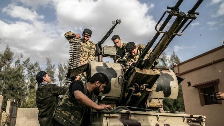 ONU insta a todas las partes en Libia a reanudar negociaciones sobre el alto el fuego - ảnh 1