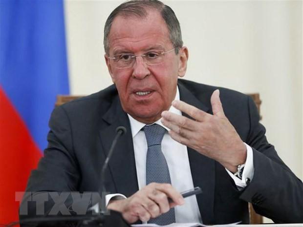 Rusia apoya los esfuerzos estadounidenses por alcanzar un alto el fuego en Libia - ảnh 1