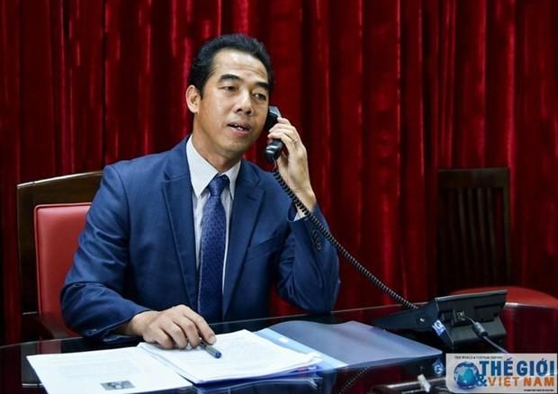 España admira esfuerzos de Vietnam en la gestión de covid-19 - ảnh 1