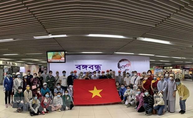 Ciudadanos vietnamitas repatriados desde el suroeste de Asia - ảnh 1
