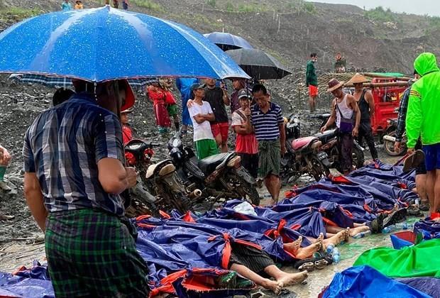 Vietnam expresa condolencias a Myanmar ante pérdidas por derrumbe de mina - ảnh 1