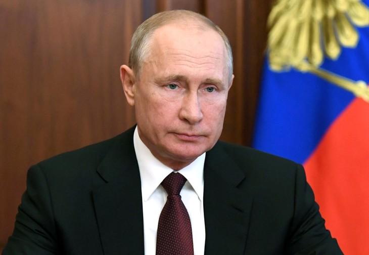 Putin agradece al pueblo ruso por su confianza - ảnh 1