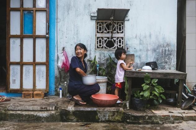 Vida cotidiana de los habitantes del centro de Vietnam a través de los ojos de un fotógrafo japonés - ảnh 7