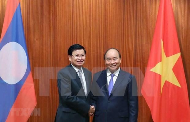 Laos y Vietnam fortalecen relaciones - ảnh 1