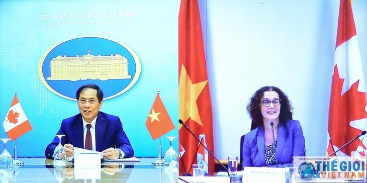 Vietnam y Canadá realizan segunda consulta política a nivel de vicecancilleres  - ảnh 1