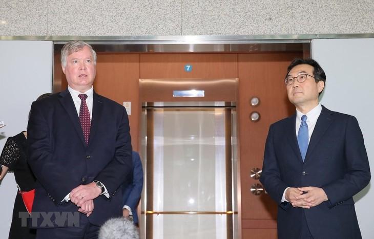 Washington promete dar apoyo completo a la cooperación intercoreana - ảnh 1