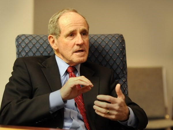 Senador estadounidense promete trabajar por impulsar la asociación integral con Vietnam - ảnh 1