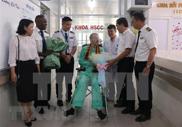 Prensa británica alaba a Vietnam por recuperar la salud de un ciudadano  - ảnh 1