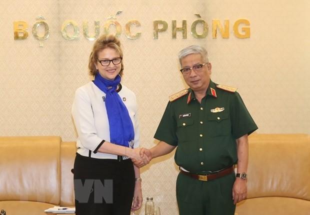 Vietnam se prepara para conferencia sobre participación femenina en misiones de paz de ONU - ảnh 1