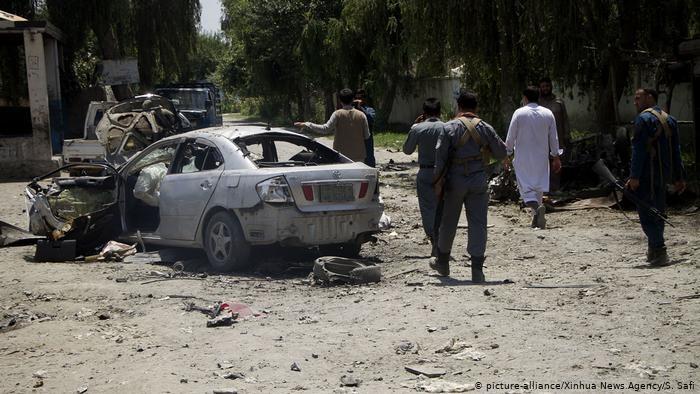 Afganistán: al menos 18 muertos en un atentado con coche bomba - ảnh 1