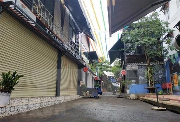 Localidades vietnamitas intensifican medidas de prevención contra covid-19 - ảnh 1