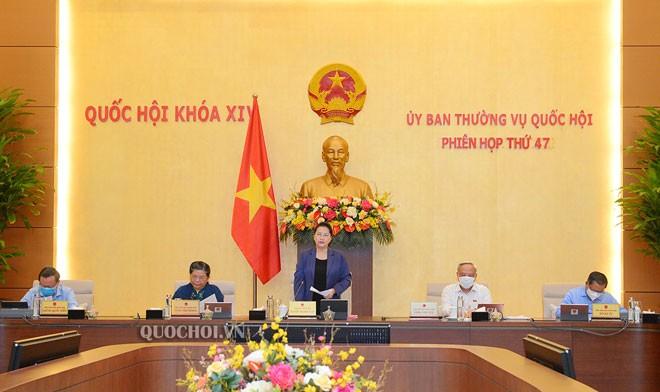 Comienza 47 sesión del Comité Permanente de la Asamblea Nacional de Vietnam  - ảnh 1