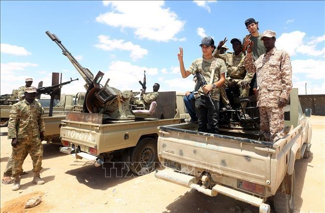ONU y Egipto aplauden el alto el fuego en Libia - ảnh 1