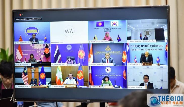 Celebran la XXIV Reunión Anual de viceministros Asean-Corea del Sur - ảnh 1