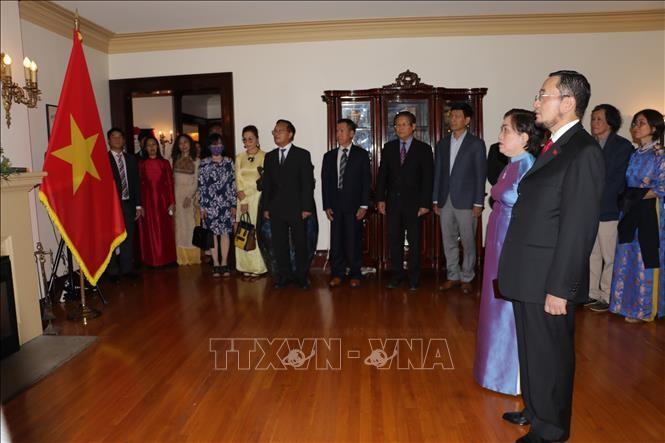 Vietnamitas en Canadá conmemoran Día Nacional  - ảnh 1