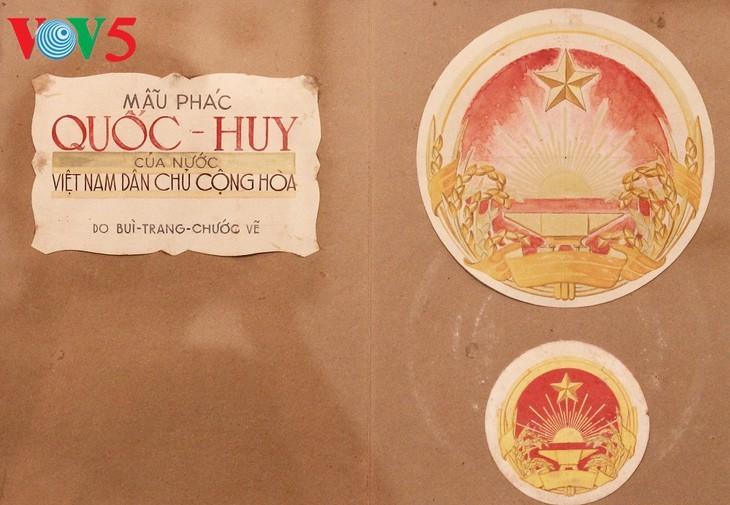 Exhibición sobre la historia del emblema nacional de Vietnam   - ảnh 5