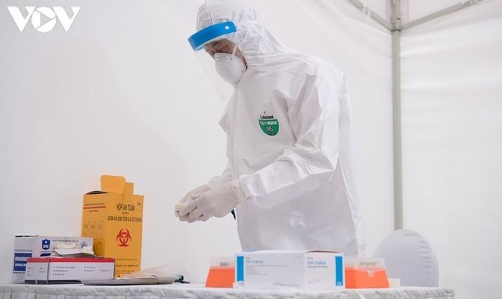 Vietnam por acelerar la producción del test rápido de antígenos - ảnh 1