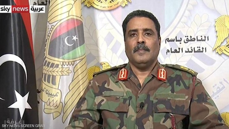 El Ejército Nacional de Libia anuncia un cese del fuego  - ảnh 1