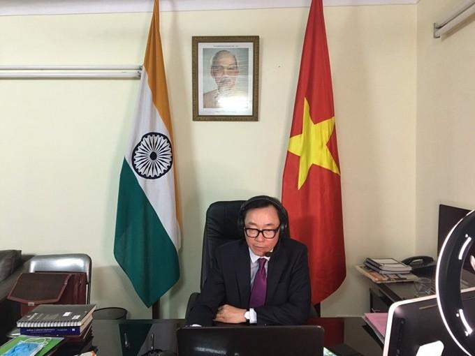 Gran potencial de cooperación en textiles y equipos médicos entre Vietnam y la India  - ảnh 1