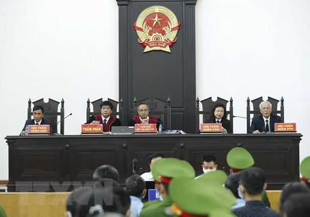 El Tribunal Popular de Hanói pronuncia veredicto en el caso Dong Tam - ảnh 1