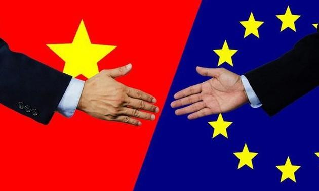 Empresas vietnamitas fortalecen la cooperación con sus homólogas en ultramar para aprovechar las ventajas de EVFTA - ảnh 1