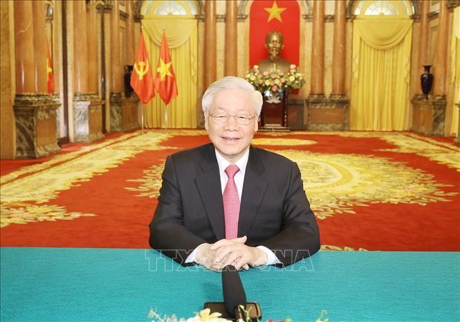 Máximo líder de Vietnam envía un mensaje al 75 período de sesiones de la Asamblea General de la ONU - ảnh 1