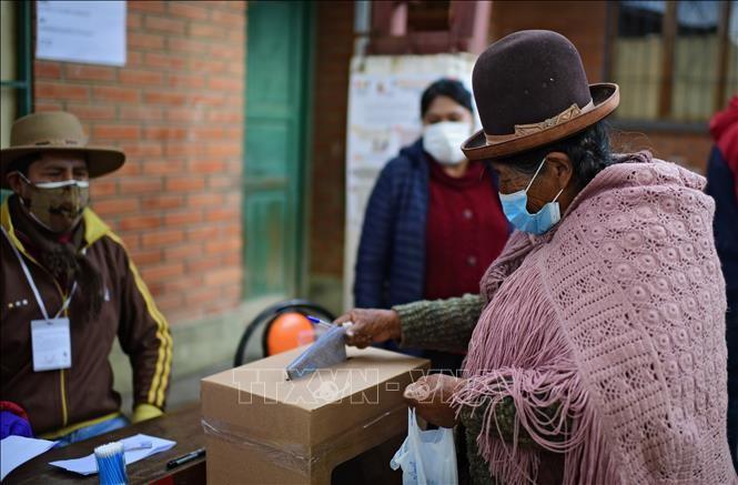 Bolivia celebra sus elecciones generales - ảnh 1