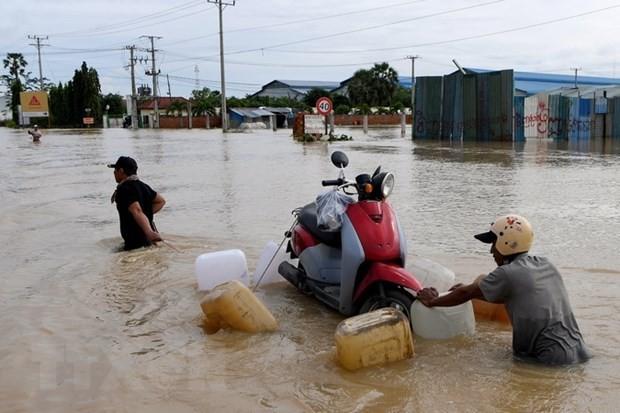 Vietnam transmite condolencias a Camboya por las pérdidas causadas por inundaciones - ảnh 1