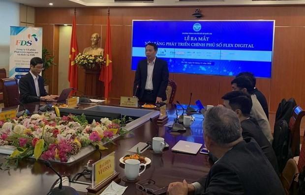 Flex Digital: una nueva plataforma de gobierno electrónico en Vietnam - ảnh 1