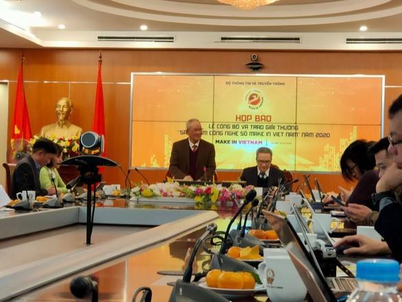 """Entregarán por primera vez premios para productos digitales """"Make in Vietnam 2020"""" - ảnh 1"""