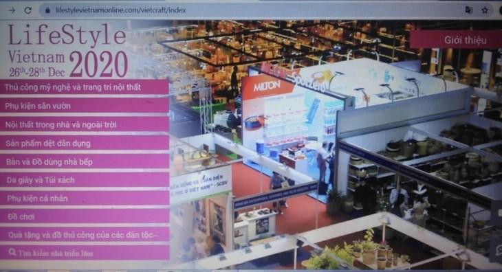 Celebran por primera vez la Feria virtual de Estilo de Vida de Vietnam 2020 - ảnh 1