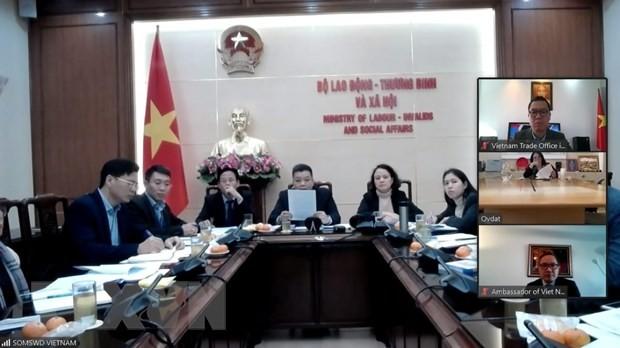 Vietnam e Israel inician negociaciones sobre cooperación laboral - ảnh 1