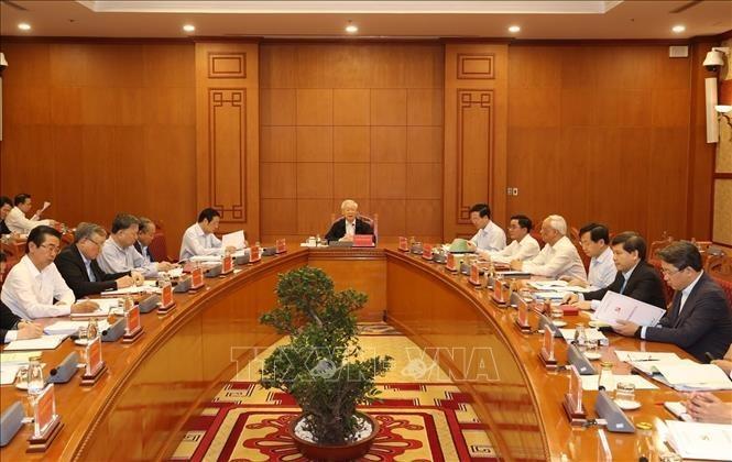 Líder político de Vietnam pide fortalecer el trabajo anticorrupción - ảnh 1