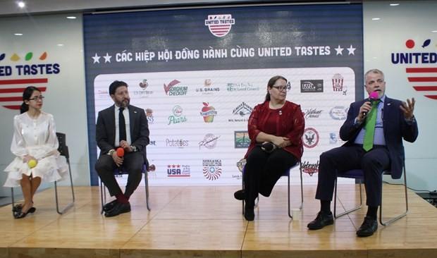 Estados Unidos promueve el comercio de sus productos agrícolas en Vietnam - ảnh 1