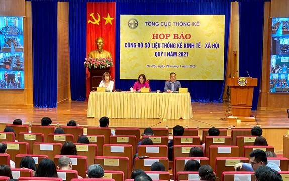 Aumentaría un 4,48% el PIB de Vietnam en el primer trimestre de 2021 - ảnh 1