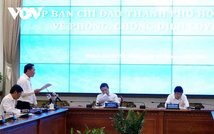 Ciudad Ho Chi Minh aumentará medidas contra la propagación del coronavirus - ảnh 1