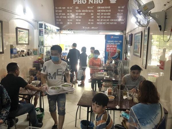 Hanói reduce nivel de distanciamiento social  - ảnh 1