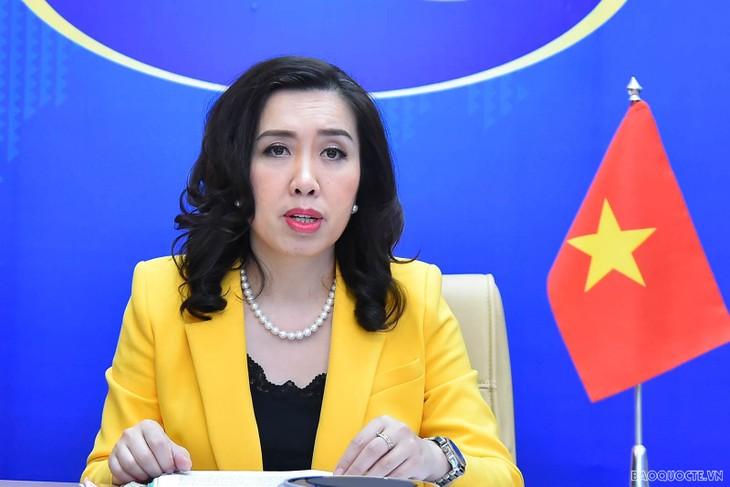 Vietnam está dispuesto a intercambiar y cooperar con la UE en cuestiones de derechos humanos - ảnh 1