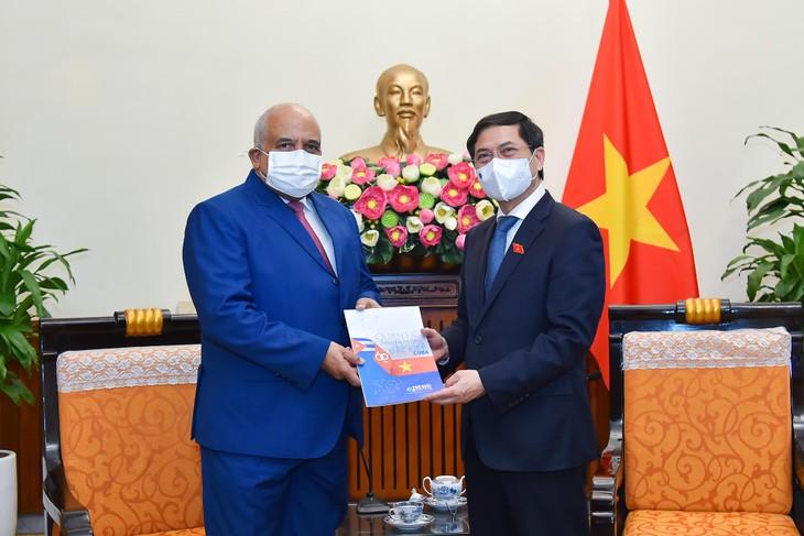 Fortalecen la relaciones de amistad especial entre Vietnam y Cuba - ảnh 1